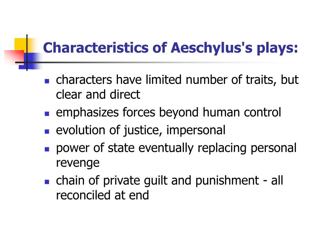 characteristics of revenge tragedy