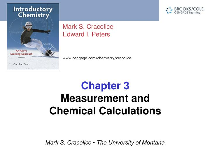 chapter 3 measurement and chemical calculations n.