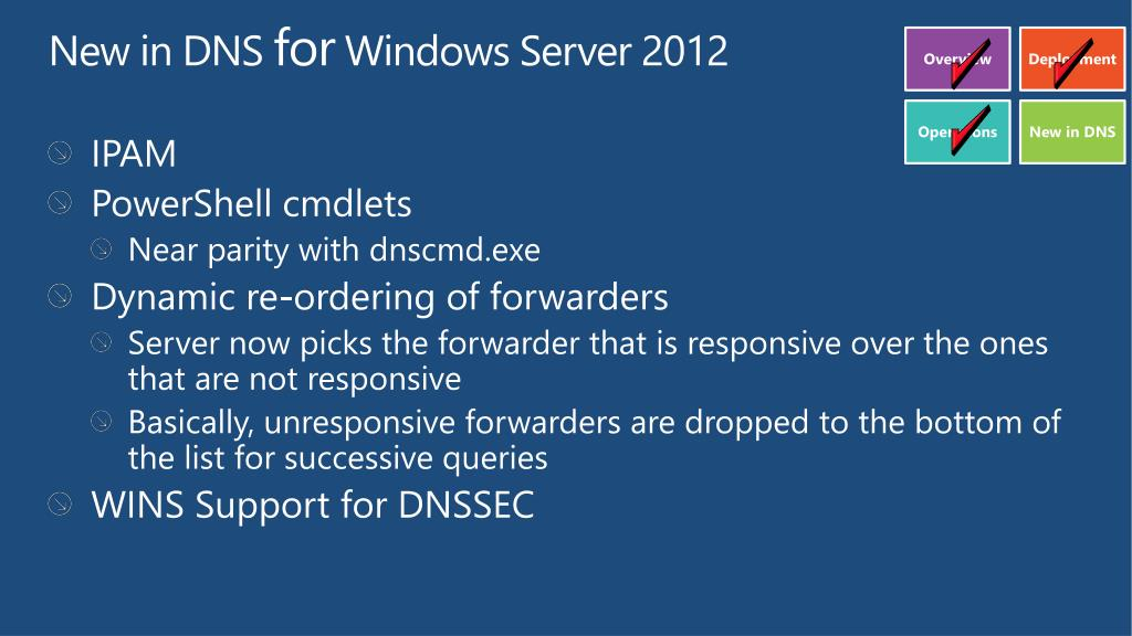 PPT - Deploying DNSSEC in Windows Server 2012 PowerPoint
