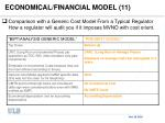 economical financial model 11