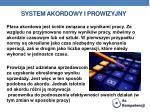 system akordowy i prowizyjny