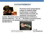 system premiowy