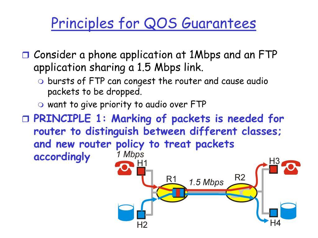 Principles for QOS Guarantees