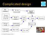 complicated design