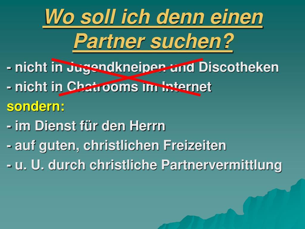 Ppt partnervermittlung