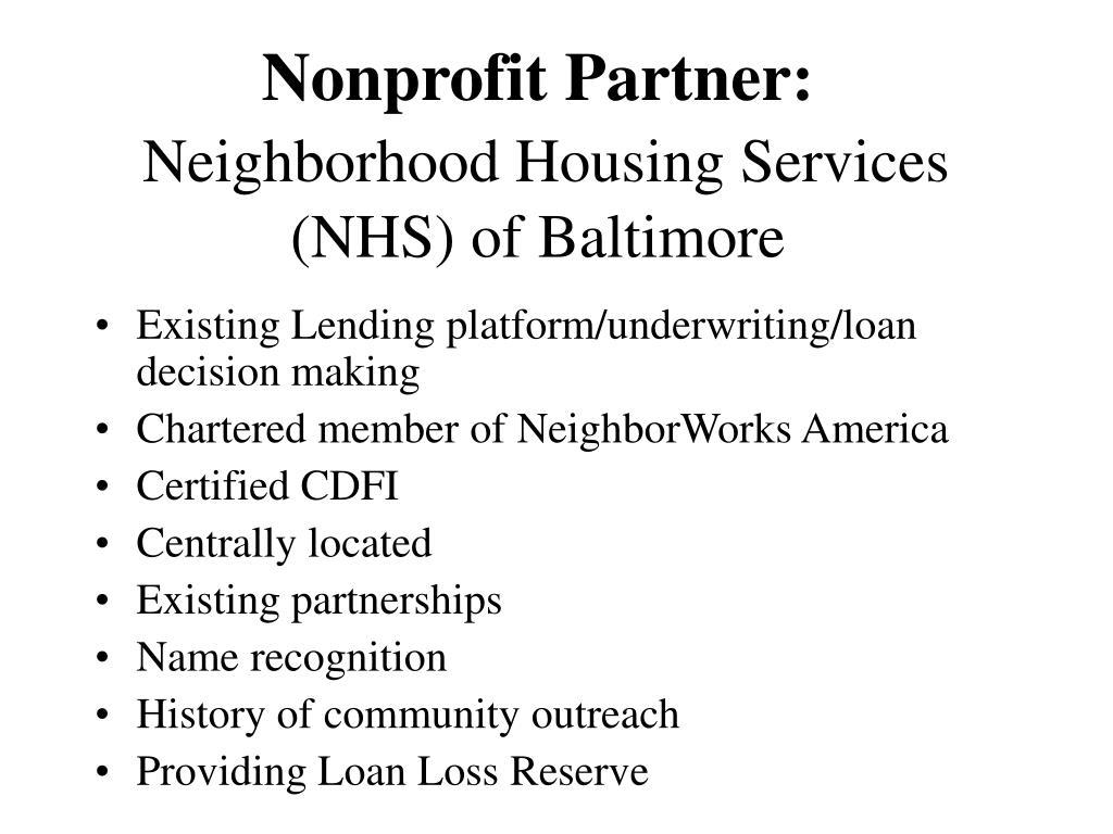 Nonprofit Partner: