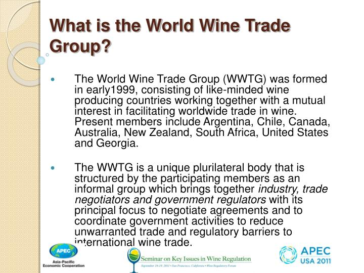 What is the world wine trade group