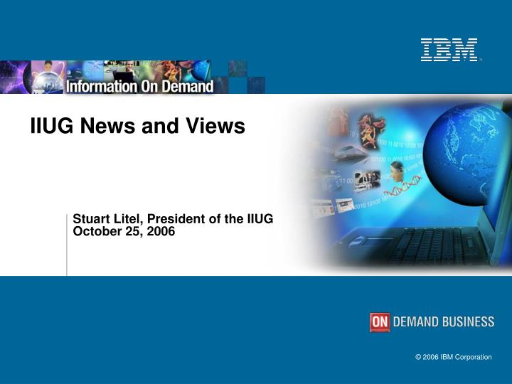 IIUG News and Views