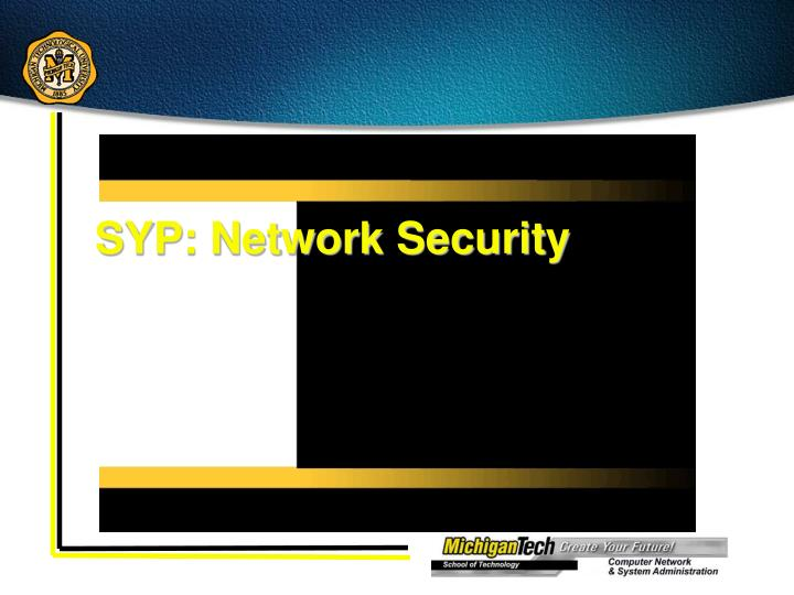SYP: Network Security