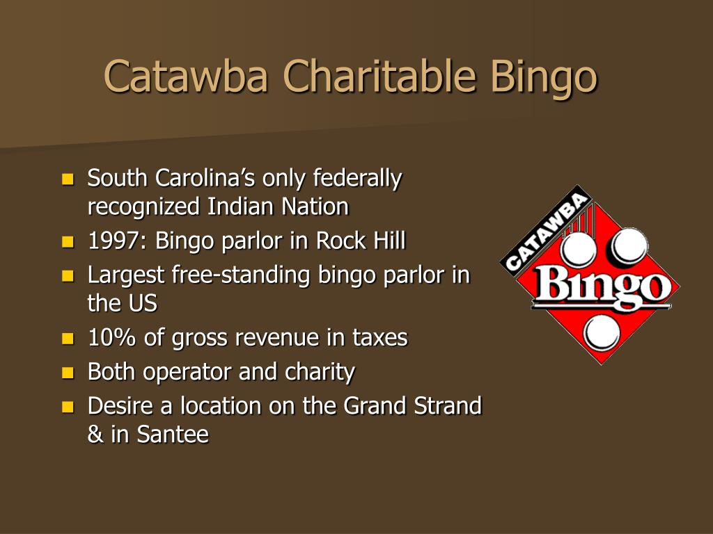Catawba Charitable Bingo