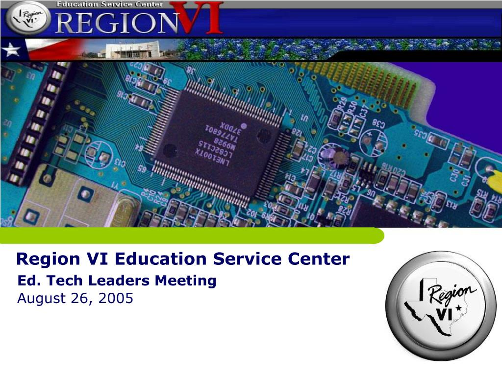 region vi education service center l.