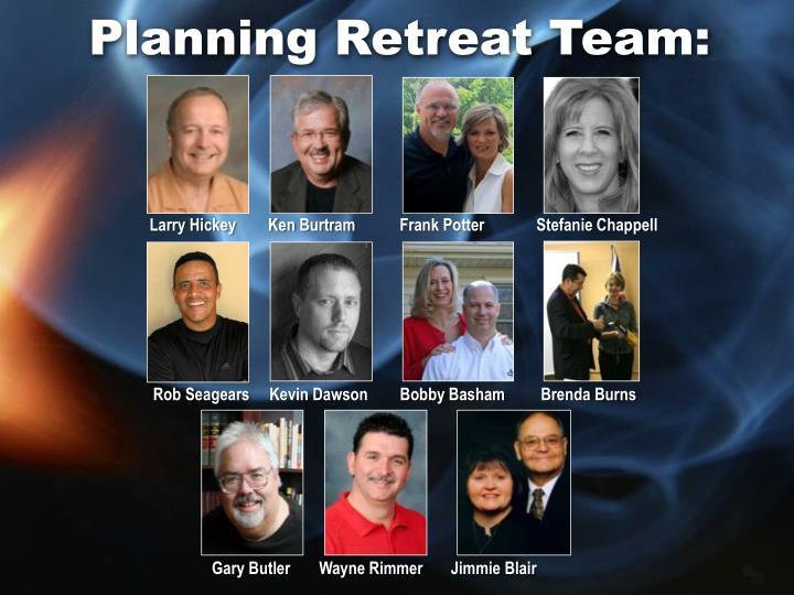 Planning retreat team