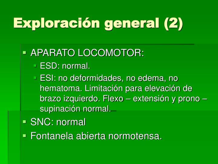 Exploración general (2)