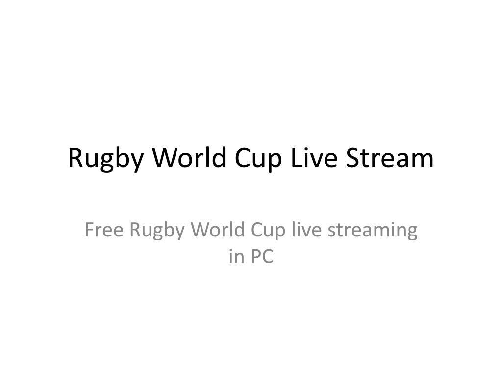 rugby world cup live stream l.