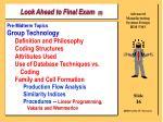 look ahead to final exam 5