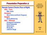 presentation preparation 311