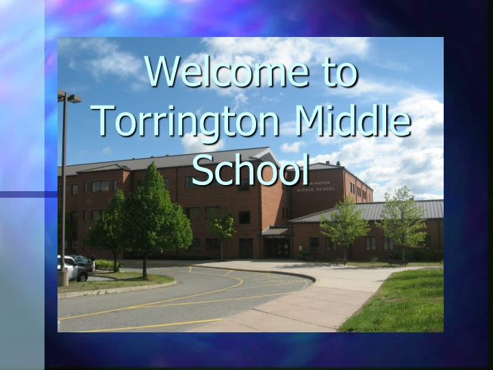 Welcome to torrington middle school