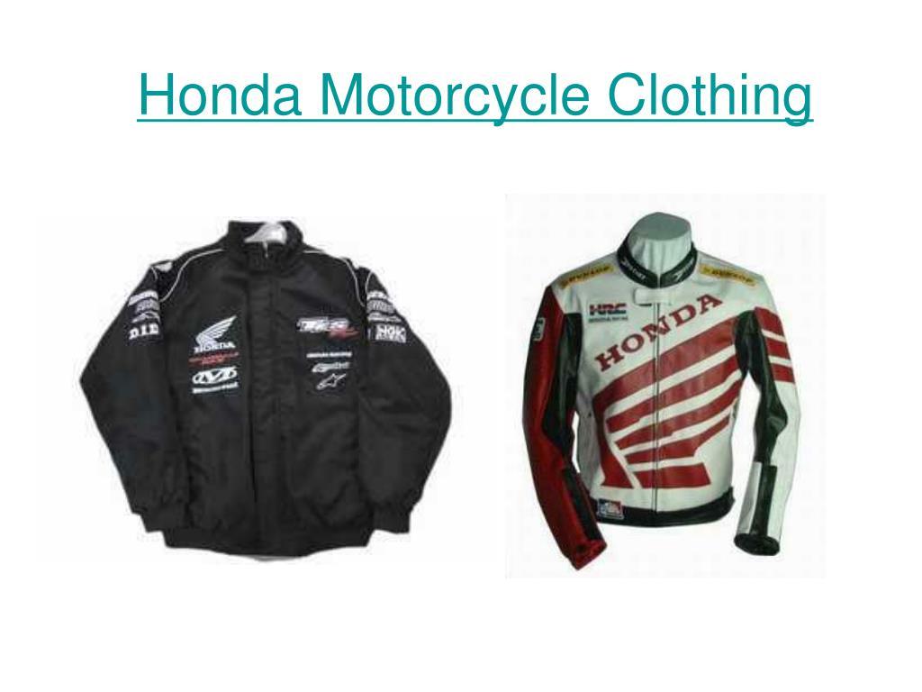 Honda Motorcycle Clothing