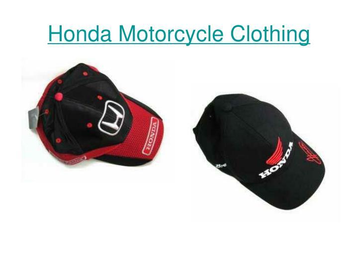 Honda motorcycle clothing3