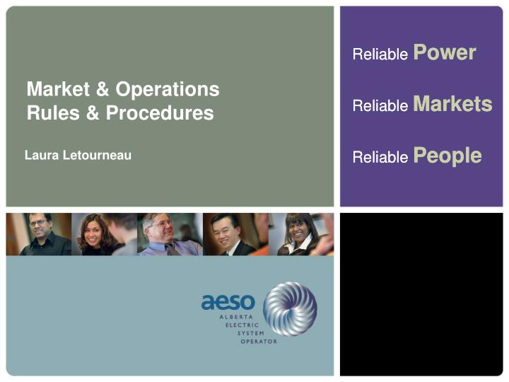 Market & Operations