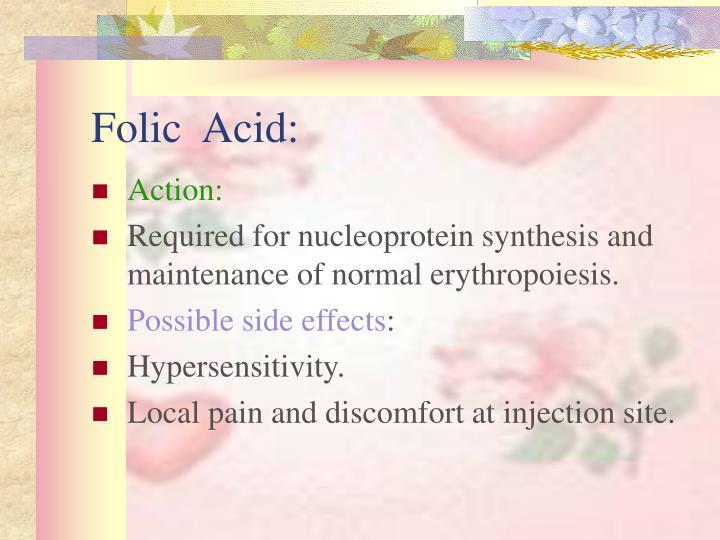 Folic  Acid: