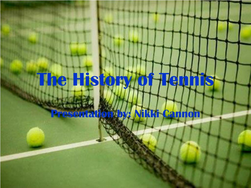 the history of tennis l.