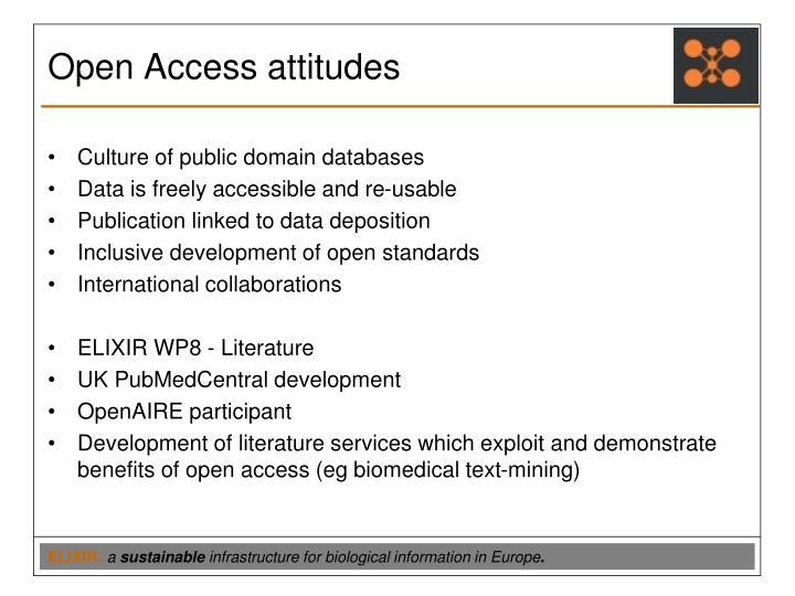 Open Access attitudes