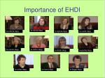 importance of ehdi