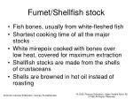 fumet shellfish stock