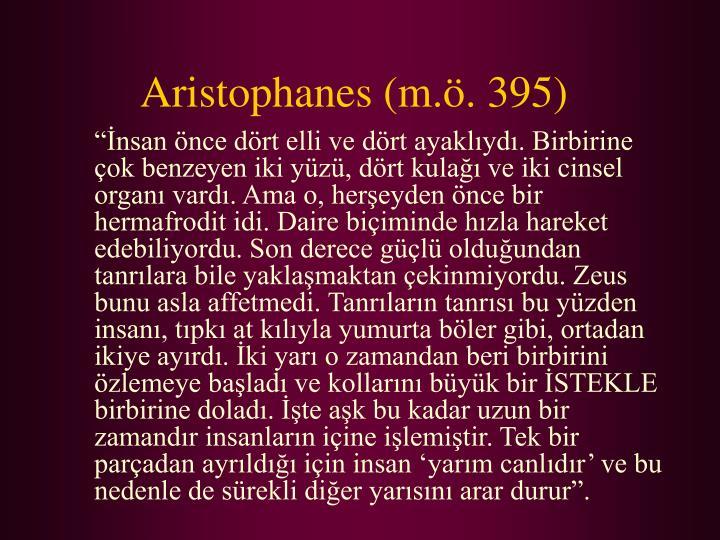 Aristophanes m 395