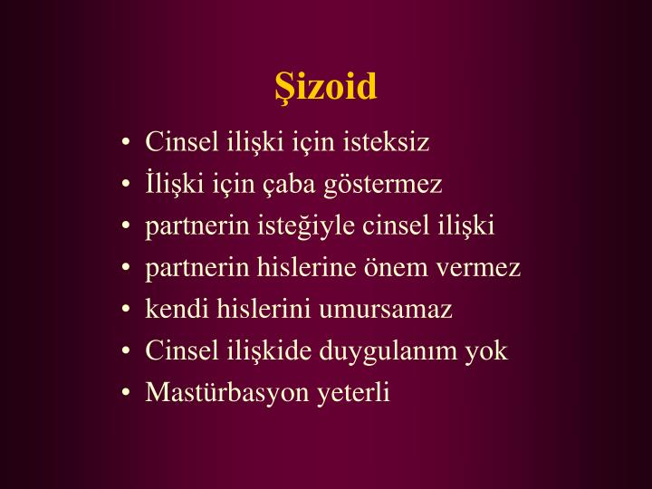 Şizoid