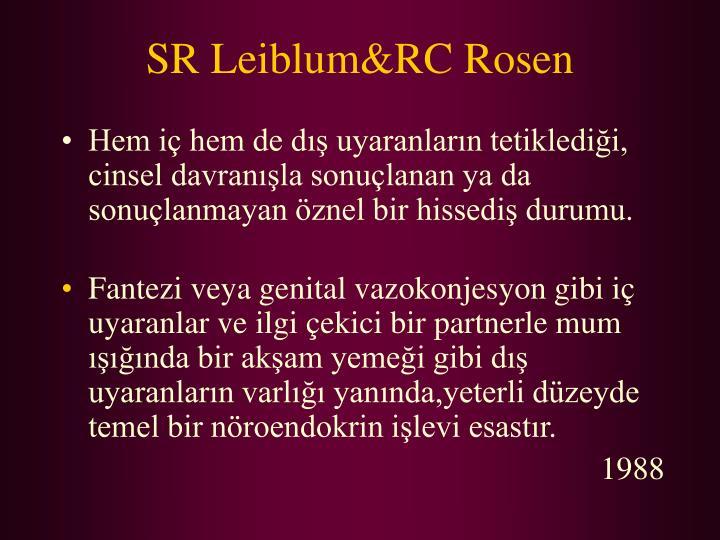 SR Leiblum&RC Rosen