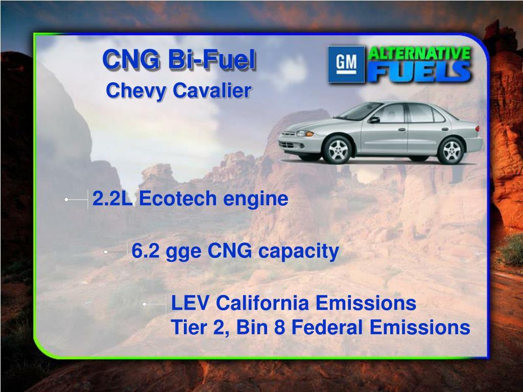 CNG Bi-Fuel