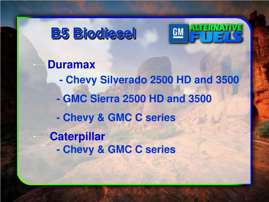 B5 Biodiesel