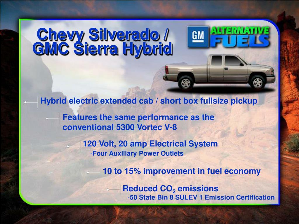 Chevy Silverado / GMC Sierra Hybrid