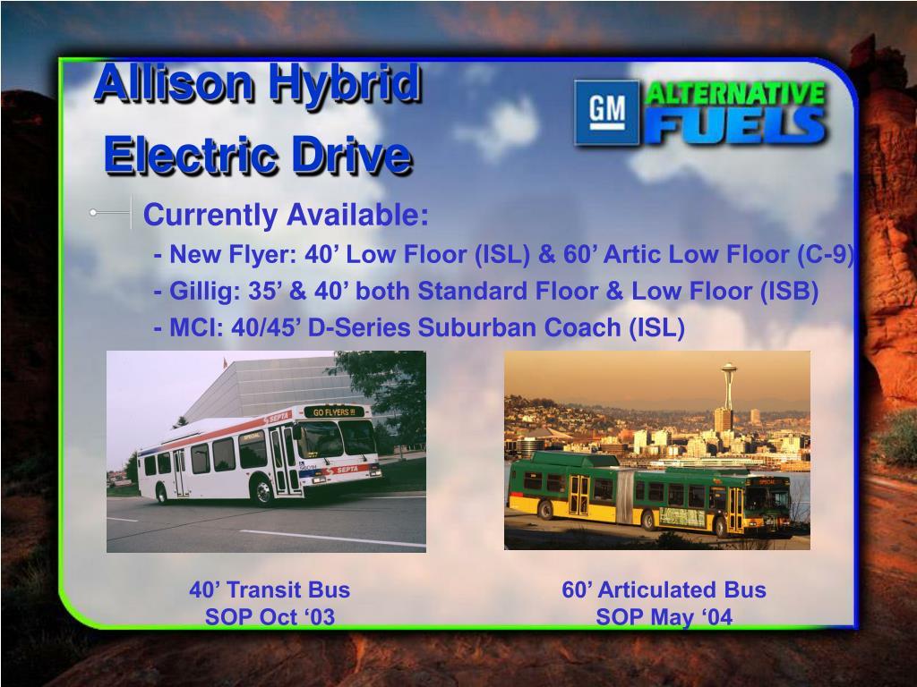 Allison Hybrid