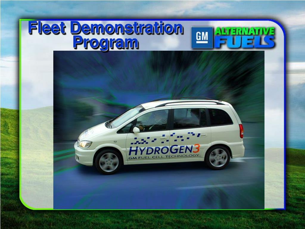 Fleet Demonstration Program