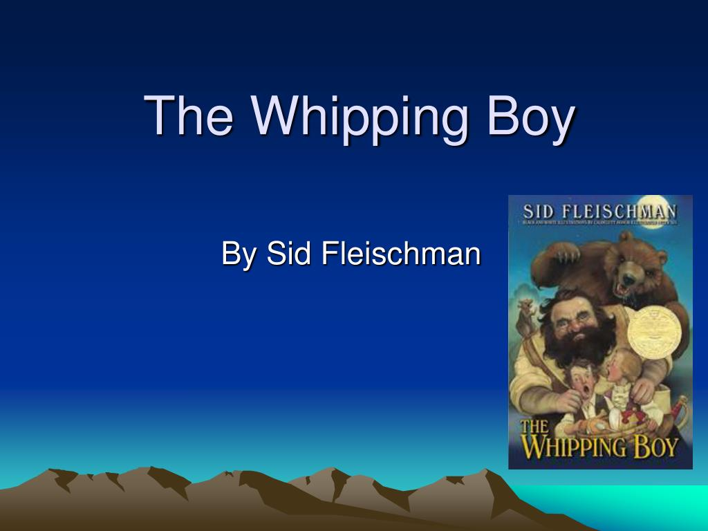 the whipping boy l.