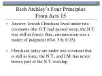 rich atchley s four principles from acts 1513