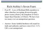 rich atchley s seven fears22