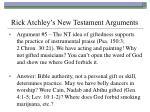 rick atchley s new testament arguments35