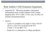 rick atchley s old testament arguments27