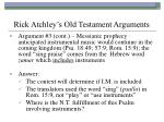 rick atchley s old testament arguments28