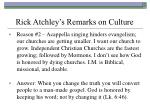 rick atchley s remarks on culture51