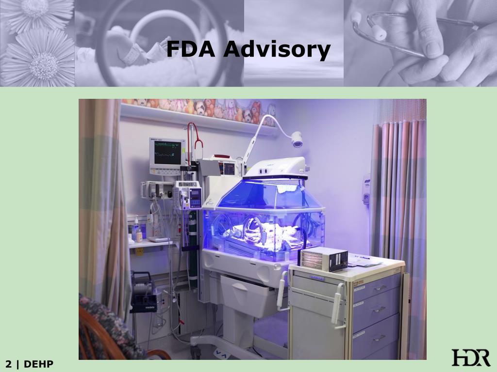 FDA Advisory