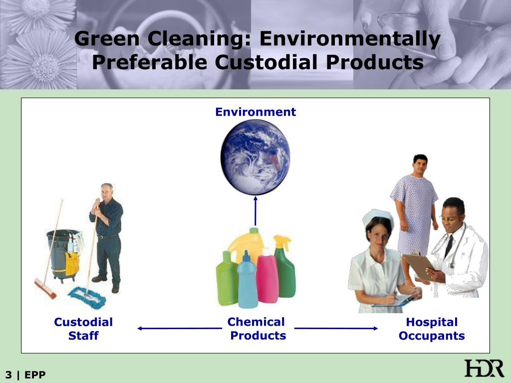 Green Cleaning: Environmentally Preferable Custodial Products