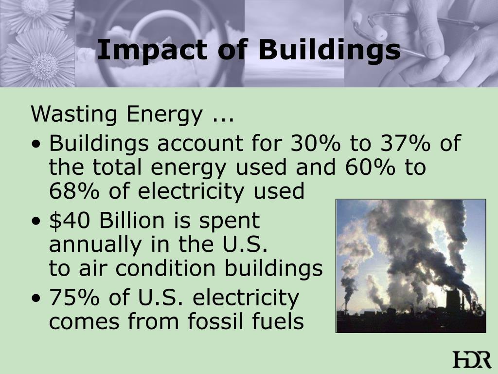 Impact of Buildings