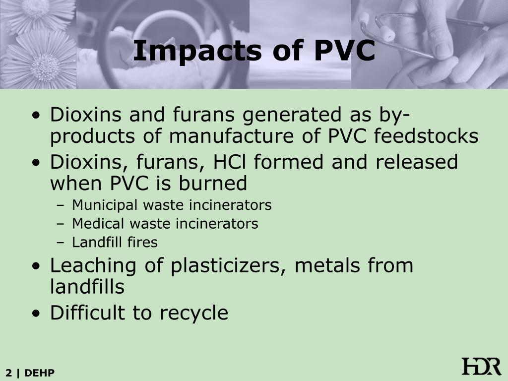 Impacts of PVC