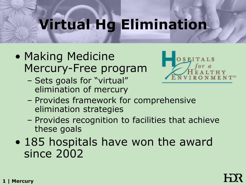 Virtual Hg Elimination