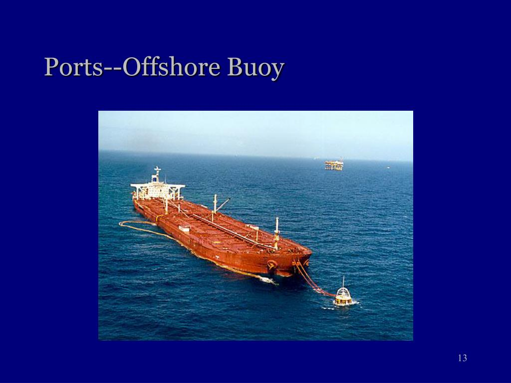 Ports--Offshore Buoy